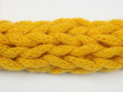 плетен шал двоен снуд