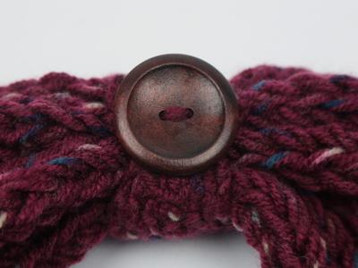 плетен интересен шал
