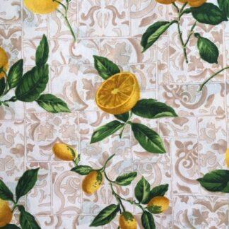 покривка лимони