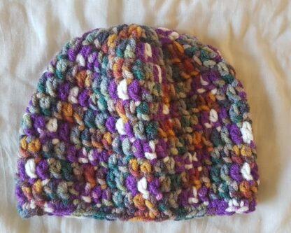 плетена шапка