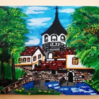 Картина Дряновски манастир