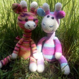 плетен жираф