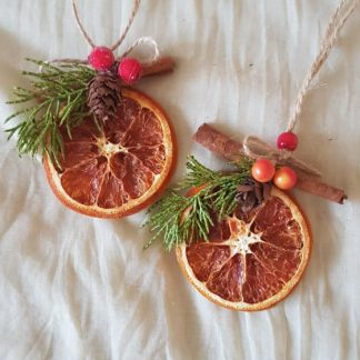 портокал с канела