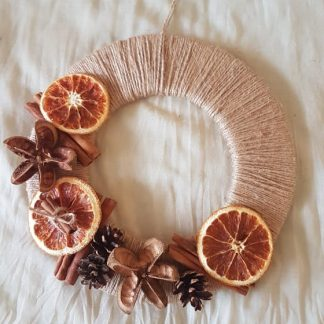 венец с портокал и канела